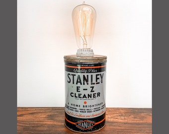 Stanley E-Z Cleaner Tin Lamp