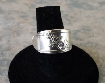 Spoon Ring, original silverplate, all sizes available
