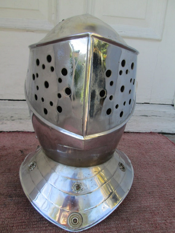 1960's or 70's Stainless Steel and Brass Medieval