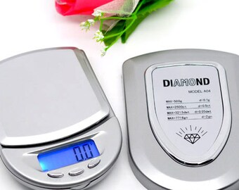 Electronic Scale Digital Mini LCD Pocket Scale 0.1grams - 500grams -  Ships IMMEDIATELY  from California - P20
