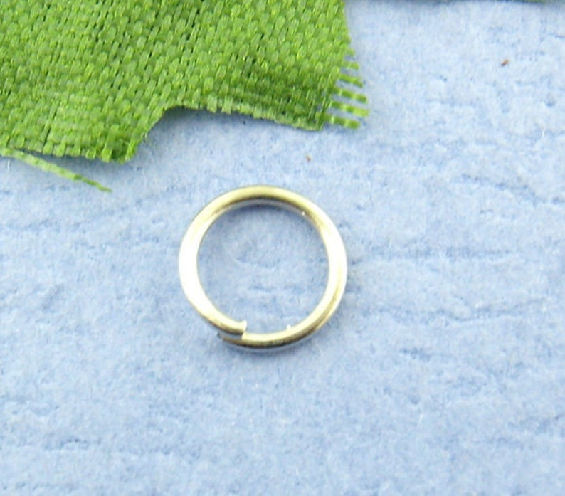 Ships IMMEDIATELY from California 6mm 500 Jump Rings 0.7mm Thick Antique Silver 21 Gauge F22a