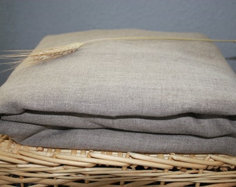 Fitted Gray Grey Bed Linen Sheet Queen Eco friendly - Custom size
