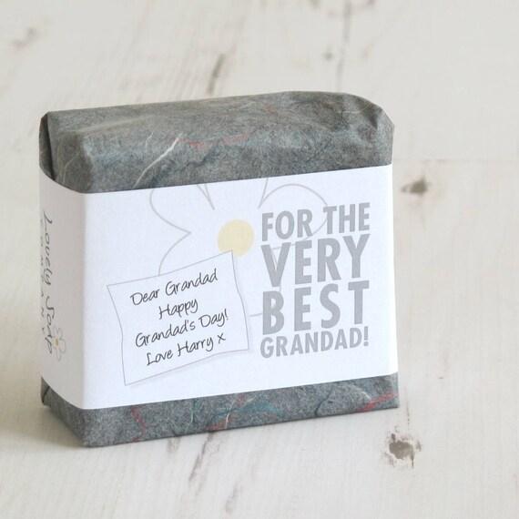 gift for grandad soap for grandad personalised soap gift etsy