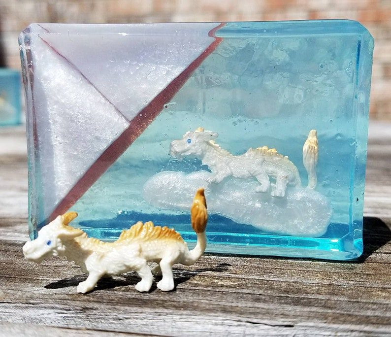 Luck Dragon Soap  Book Soap  Falcor  Never Ending Story  image 0