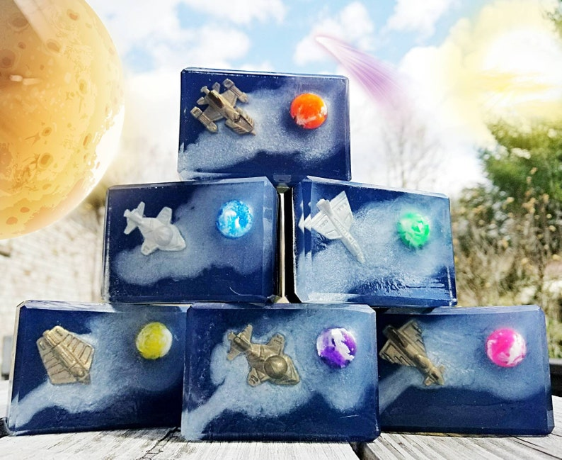 Final Frontier Bar  Toy Soap  Space  Gift  Cosmos  Star image 0