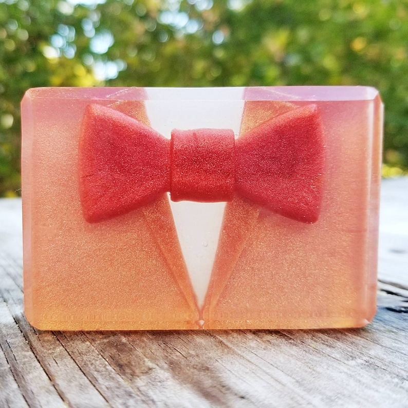 Bow Ties Are Cool Soap  Whovian  Dapper Man Soap  Perfect image 0