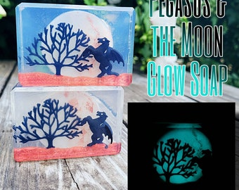 Pegasus and the Moon Glow Soap