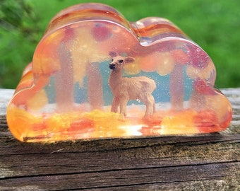 Fall Forest Deer Soap