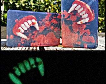 Halloween Vampire Glow Bar Soap