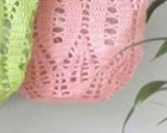 Crochet pattern Market tote bag 'LEAF' by ATERGcrochet