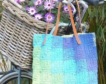 ATERGcrochet pattern GRADIENT BAG