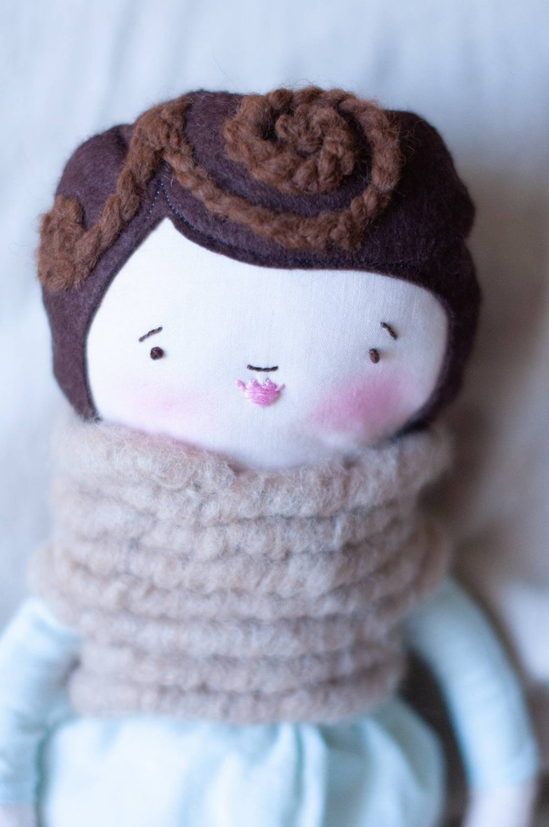 Heirloom Cloth Doll and Dress PDF Pattern  NO Separate image 0