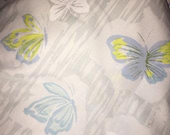 Vintage Butterfly Flat Double Sheet