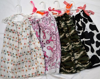 Bandana Dresses for girls - Various Choices (3) - Finished