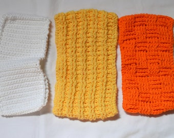 Crocheted Reusable Swiffer Covers - Finished Product