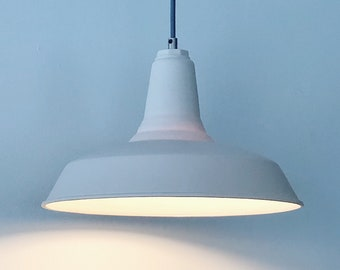 Modern Farmhouse Pendant Light,  Translucent Porcelain Lighting
