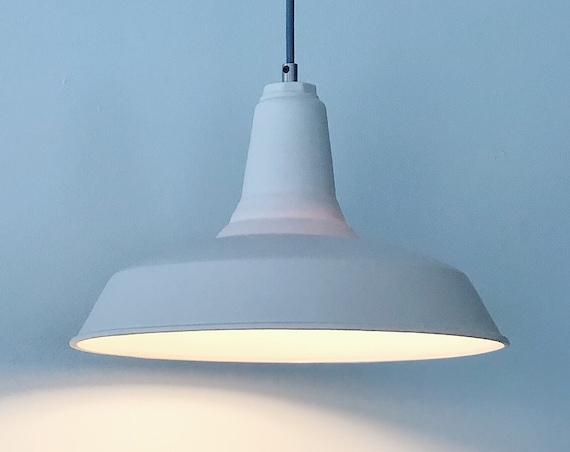 Modern Farmhouse Pendant Light,  Translucent Porcelain Lighting