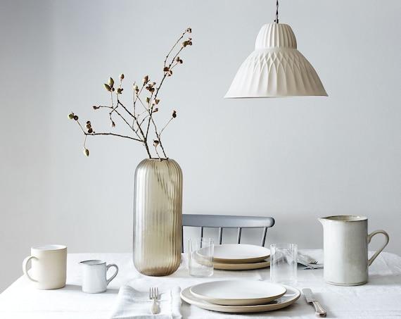Sofia Porcelain Pendant Light, Modern Lighting Design, Translucent Porcelain Lighting