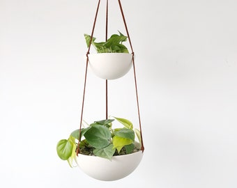 Two Tiered Hanging Planter