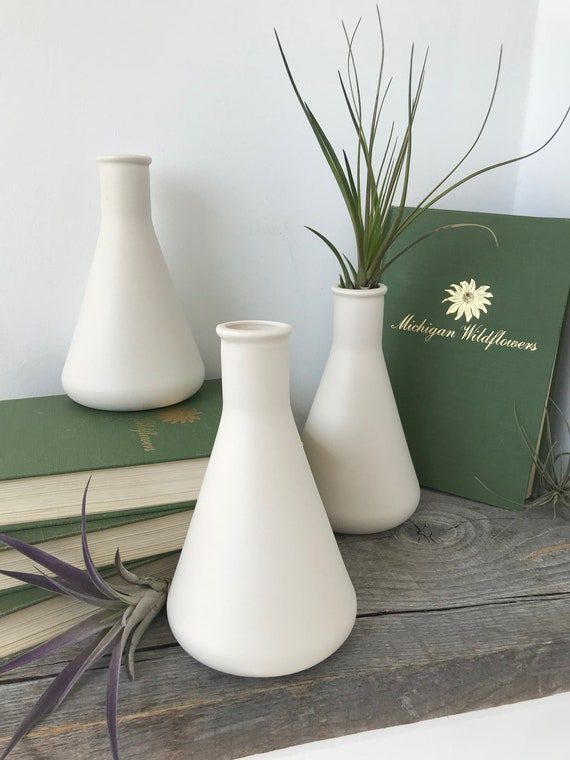 Modern Porcelain Beaker Vase