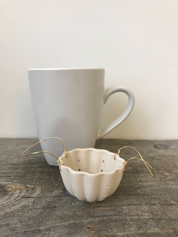 Porcelain Tea Strainer