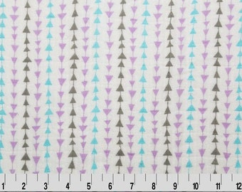 summer scarf gauze curtain Coral Arrow bedding 100/% cotton Swaddle Fabric Aim High Embrace Pink Muslin Arrow Double Gauze