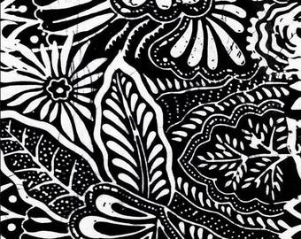 Black White Abstract Etsy