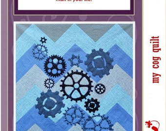 Passionately Sewn - My COG Applique Quilt Pattern
