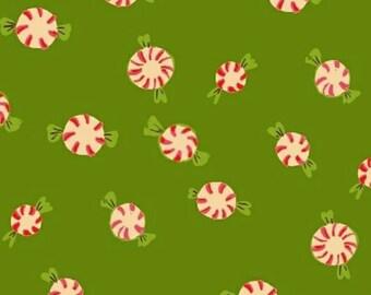 Windham - Sugarplum by Heather Ross - Peppermints - Green
