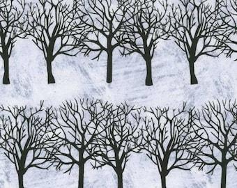 Andover - Winter Moons Trees by Two Can Art