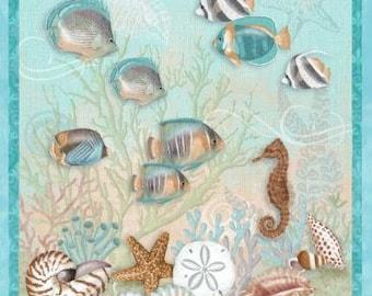 Studio E - Seaside Dreams by Sharla Fults - Seaside Panel