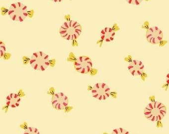 Windham - Sugarplum by Heather Ross - Peppermints - Cream