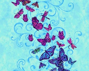 Studio E - Aflutter by Elizabeth Isles - Butterfly Panel