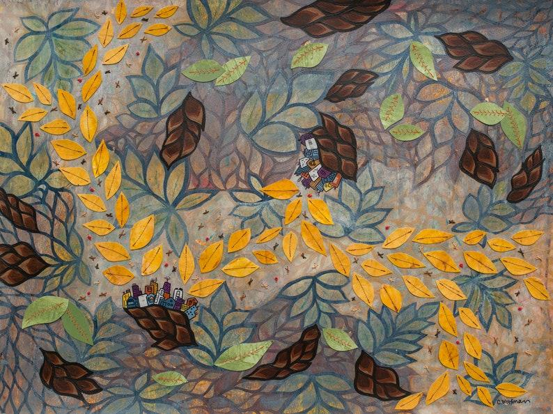 Leave Trails Autumn  Fine Art Print image 0