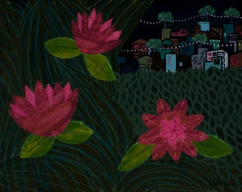Night Blossoms - Fine Art Print