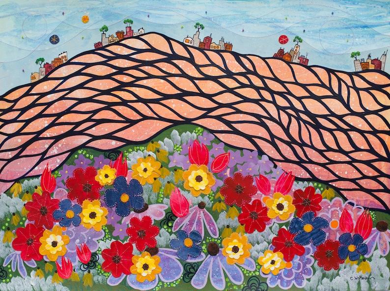 Bloom and Flow Summer  Fine Art Print image 0