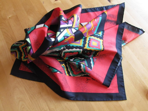Jim Thompson 100% Thai Silk Scarf