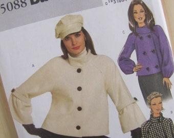 Uncut Butterick 5088 - Misses Jacket - Size 14-20