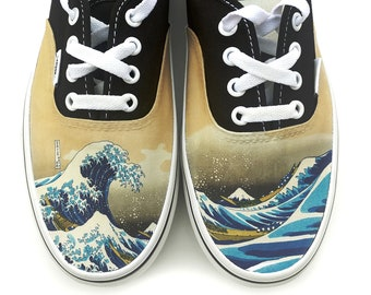 59089915212932 The Great Wave Authentic Vans Brand Shoes