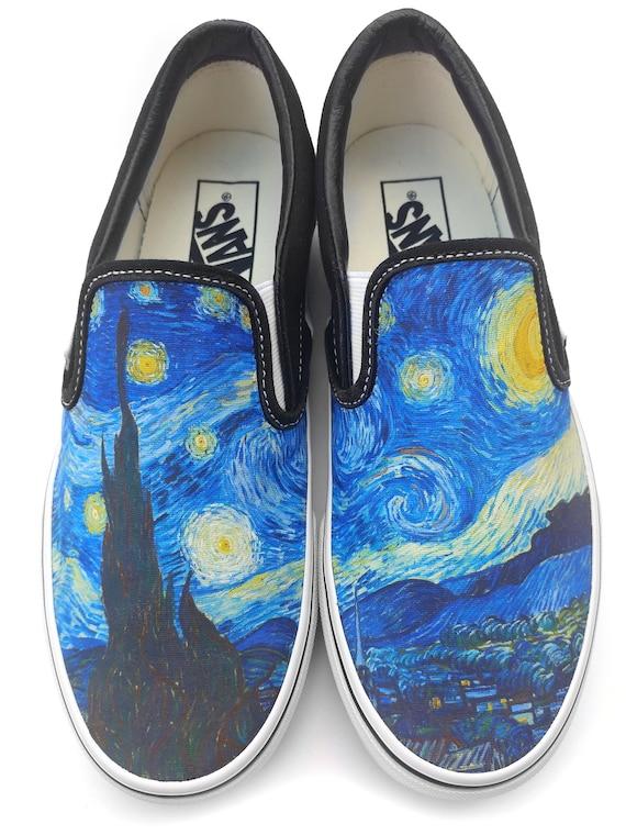 scarpe con i lacci van gogh