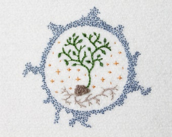 Winter Sprouting Embroidery