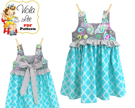 5332b7aa831c Girls Top Pattern. Girls Dress Pattern pdf. Toddler Dress