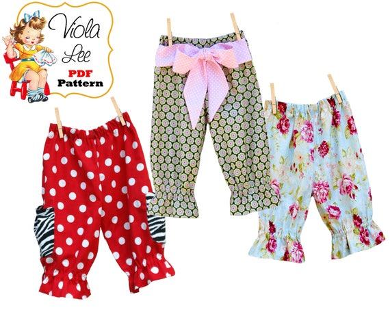 Patty Baby Pants Sewing Pattern pdf Baby Sewing Pattern | Etsy