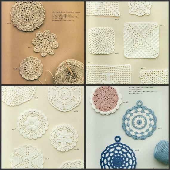 2 Ebooks motivos de ganchillo y bordes japonesa Crochet   Etsy