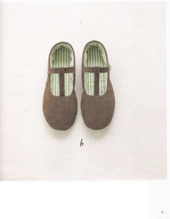 Costura patrones zapatillas PDF gratis envío No.43 | Etsy