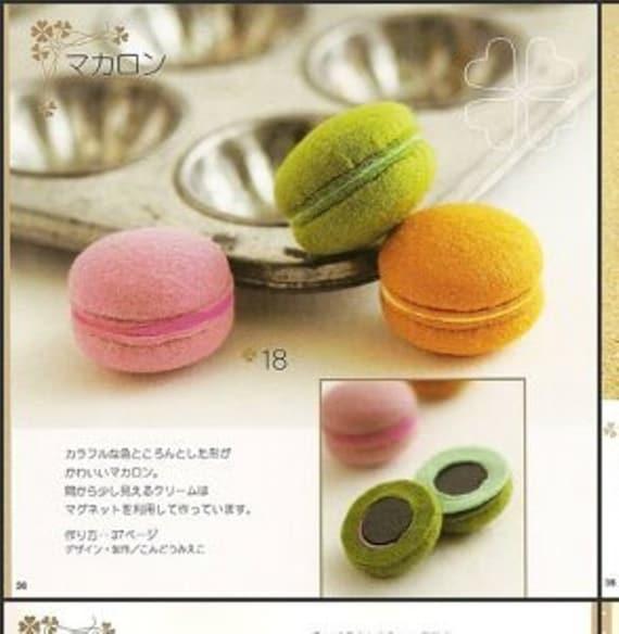 Fieltro patrones de dulces PDF envío gratis Kawaii Ebook   Etsy