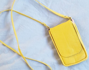 The Lottie Crossbody Purse - Yellow