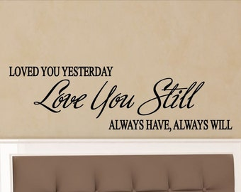 Master Bedroom Wall Decal Wall Decor Master Bedroom Decal Master Bedroom Decor Love Quotes Wall Art