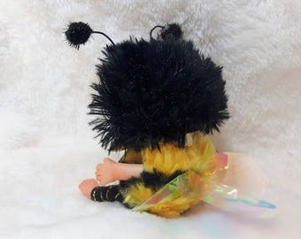 Bumblebee Bee Cute Baby Doll, Christmas Tree decoration, Christmas Stocking Stuffer, Stocking Filler