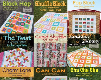 10 pattern bundle - 10 printed patterns